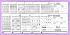 Times Tables Activity Pack