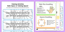 Calming Activity Cards