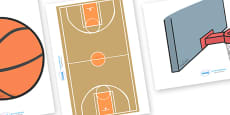 The Olympics Editable Images Basketball