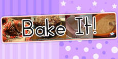 Australia - Bake It Photo Display Banner