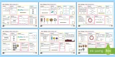 Year 2 Spring 1 Maths Activity Mats