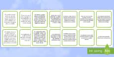 Tarjetas de secuenciar de cuento: San Jorge y el dragón