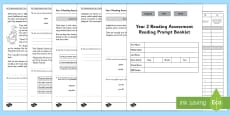 Year 2 Reading Assessment Paper 1 Term 1