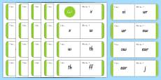 Phonics Loop Cards