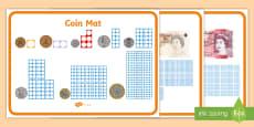 Maths Intervention Money Mats