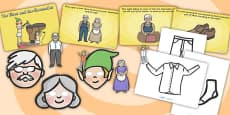The Elves and the Shoemaker Story Sack Resource Pack
