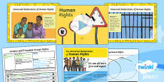 RE: Justice and Freedom: Human Rights Year 6 Lesson Pack 4