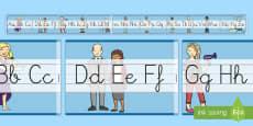 Recta alfabética de exposición: Las profesiones
