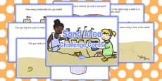Sand Area Challenge Cards