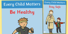 Every Child Matters Display Posters