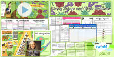 PlanIt - Science Year 6 - Living Things and Their Habitats Unit Pack