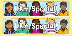 I Am Special! Display Banner