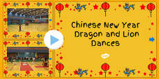 Australia Chinese New Year PowerPoint Videos Dragon and Lion Dance