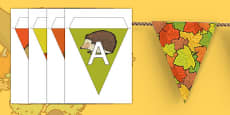 Autumn Display Bunting