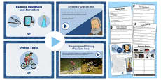 Famous Inventors and Inventions Lesson Teaching Pack