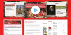 KS3 English Christmas Lesson Pack to Support Teaching on Papa Panov's Special Christmas