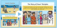 Jesus' Disciples Story PowerPoint
