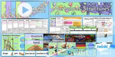 PlanIt - DT UKS2 - Marbulous Structures Unit Pack
