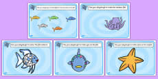 Playdough Mats to Support Teaching on The Rainbow Fish