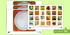 Tarjetas de clasificar con fotos: La comida saludable