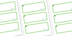 Banyan Tree Themed Editable Drawer-Peg-Name Labels (Blank)