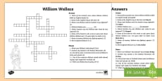 William Wallace Crossword