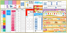 EYFS Class Management Teacher Folder Resource Pack