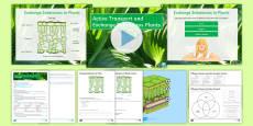 AQA Unit 4.1 Active Transport and Exchange Substances Plants Cover Lesson Pack