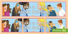 Make a Noise about Bullying Display Banner