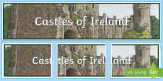 Castles of Ireland Display Banner