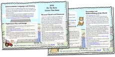 On The Farm Lesson Plan Ideas EYFS