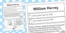 William Harvey Significant Individual Fact Sheet