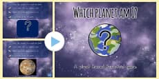 Australia - 'Which Planet Am I?' Interactive PowerPoint Game