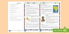 All About the Incas Differentiated Reading Comprehension Activity
