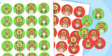 Teddy Bears Picnic Stickers