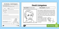 David Livingstone Text Detective