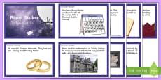 Bram Stoker Fact Cards
