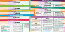 Patterns Lesson Plan and Enhancement Ideas EYFS