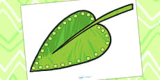 Threading Activity to Support Teaching on The Very Hungry Caterpillar