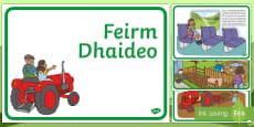 Grandad's Farm Gaeilge