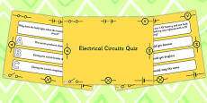 Electrical Circuits PowerPoint Quiz