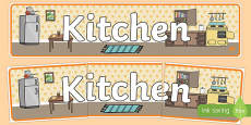 Kitchen Role Play Banner