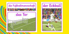 Rio 2016 Olympics Football Display Posters German