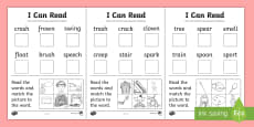 I Can Read! Phase 4 CCV and CCVC Words Using Phase 3 Graphemes Activity Sheet