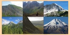 Magnificent Mountains Photo Clip Art Pack