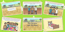 The Farmer and His Sons Story Cards
