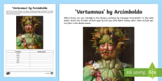Vortumnus by Arcimboldo Activity Sheet