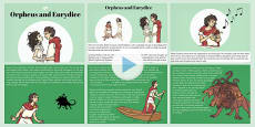 Orpheus and Eurydice Story PowerPoint