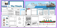 Is The Titanic Resource Display Pack