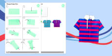 Origami Rugby Shirt Activity